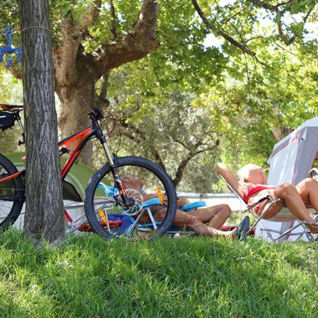 Noleggio bici Camping Zocco