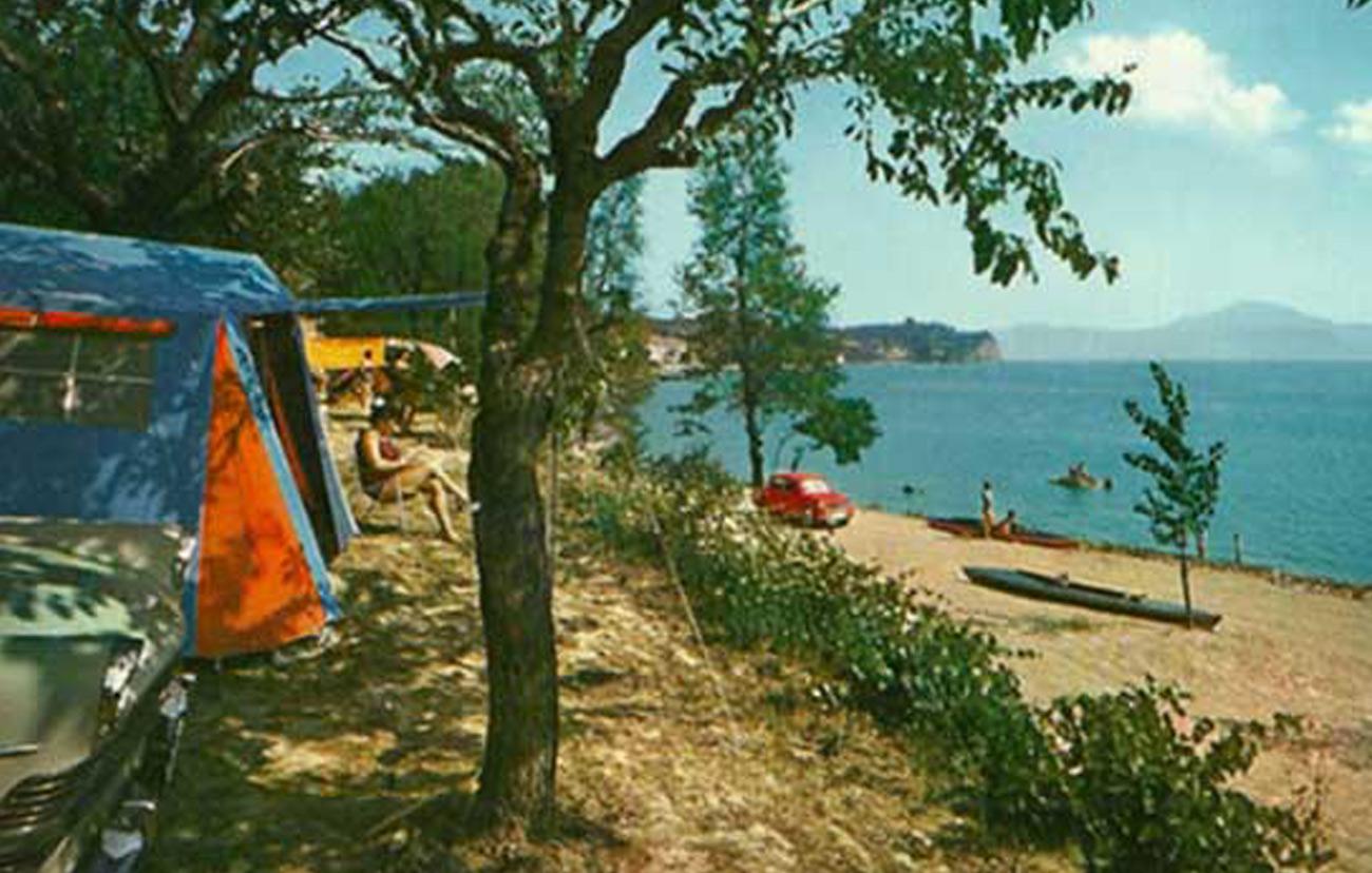 Camping Zocco Lago di Garda - Foto storica